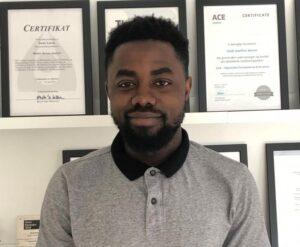 Raymond Pius Mwebaze - månedens medarbejder oktober 2020